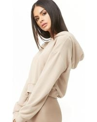 Forever 21 - Dropped Shoulders Hoodie - Lyst
