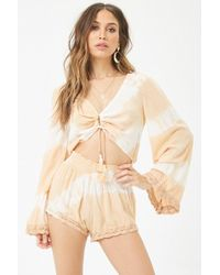 Forever 21 - Surf Gypsy Cutout Ombre Playsuit - Lyst