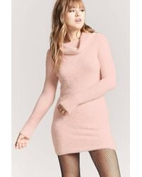 Forever 21   Faux Fur Mini Dress   Lyst