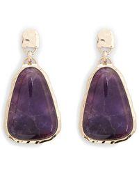 Forever 21 - Women's Faux Marble Drop Earrings - Lyst