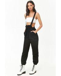 Forever 21 - Oversized Suspender Trousers - Lyst