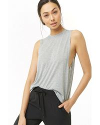 Forever 21 - Active Sleeveless Surplice-back Top - Lyst