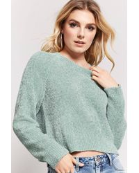 Forever 21 - Chenille Knit Sweater - Lyst