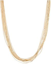 Forever 21 - Women's Etched Chain Necklace - Lyst