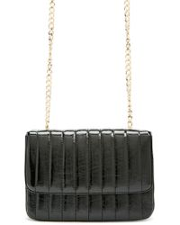 Forever 21 - Rectangle Faux Leather Crossbody , Black - Lyst