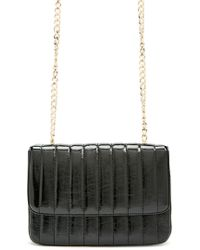Forever 21 - Rectangle Faux Leather Crossbody - Lyst