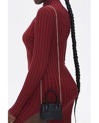Forever 21 Top Handle Crossbody Bag In Black