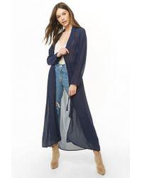 Forever 21 Women's Chiffon Wrap Coat