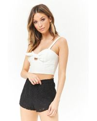Forever 21 - Lace Dolphin Shorts - Lyst