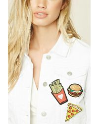 Forever 21 Pizza Patch Pin Set - Multicolour