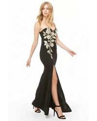 Forever 21 - Soieblu Embroidered Maxi Dress - Lyst