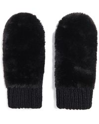 Forever 21 | Faux Fur Mittens | Lyst