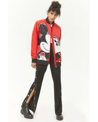 Forever 21 - Mickey Mouse Bomber Jacket - Lyst