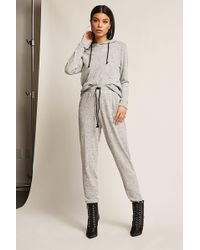 Forever 21   Marled Knit Joggers   Lyst