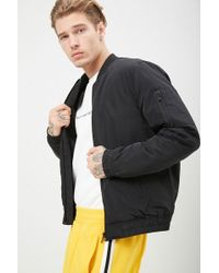 8d55a2b42 's Quilted Lined Bomber Jacket - Black