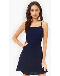 Forever 21 - Chiffon Cami Mini Dress - Lyst