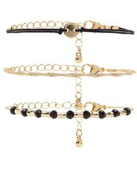 Forever 21 - Twisted Curb Chain Bracelet Set - Lyst