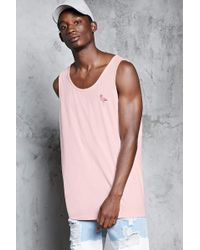 e41c9391496306 Forever 21 Flamingo Print Tee in Pink for Men - Lyst