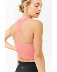 Forever 21 - Active Ribbed Knit Tank Top - Lyst
