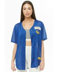 Forever 21 - Nba Golden State Warriors Graphic Jersey - Lyst