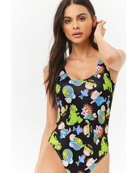 Forever 21 - Rugrats Graphic One-piece Swimsuit - Lyst
