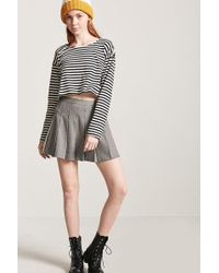 Forever 21 - Women's Pleated Houndstooth Skirt - Lyst