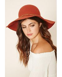 Forever 21 - Faux Suede Wool Hat - Lyst