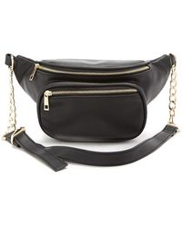 Forever 21 - Faux Leather Belt Bag - Lyst