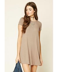 Forever 21 - Lace-up Tent Dress - Lyst