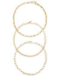 Forever 21 - Chain Necklace Set - Lyst