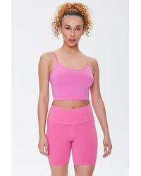 Forever 21 Active Biker Shorts - Pink