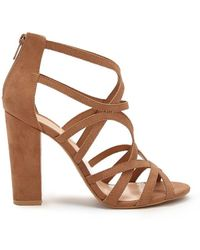 Forever 21 - Strappy Open-toe Heels - Lyst