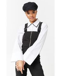 Forever 21 - Pinstripe Cabby Hat - Lyst