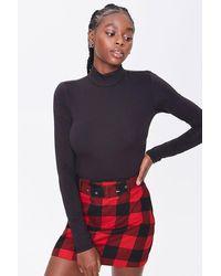 Forever 21 Plaid Mini Skirt - Multicolor