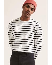 Forever 21 - Stripe Sweater-knit Top - Lyst