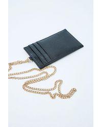 Forever 21 Chain-strap Coin Purse - Black