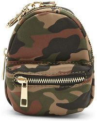Forever 21 Camo Backpack Coin Purse , Green/multi