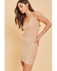 7defe70f6 Spanx Assets By Shaping Convertible Slip At in Natural - Lyst