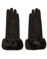 Forever 21 - Faux Fur-trim Finger Gloves - Lyst