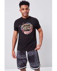 Forever 21 Bandana Print Drawstring Shorts - Black