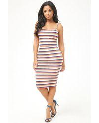 Forever 21 - Women's Striped Pencil Skirt - Lyst