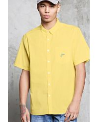 Forever 21 - Slim-fit Dolphin Pocket Shirt - Lyst