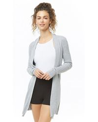 Forever 21 - Active Longline Cardigan - Lyst
