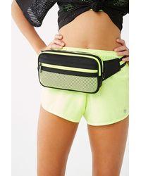 Forever 21 Contrast Belt Bag , Neon Green/black
