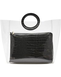 Forever 21 - 2-in-1 Clear Tote Bag - Lyst