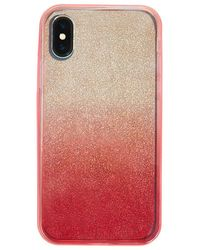 Forever 21 Glitter Case For Iphone X/xs , Pink