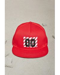 Forever 21 Pay Me Snapback Hat in Red for Men - Lyst 90b7399c8612
