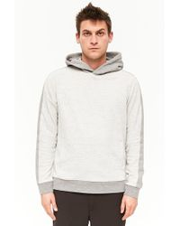 Forever 21 - Two-tone French Terry Hoodie - Lyst