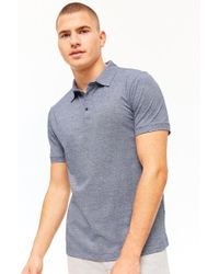 Forever 21 - Marled Knit Polo Shirt - Lyst