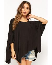 Forever 21 - Billowy Crescent Hem Top - Lyst